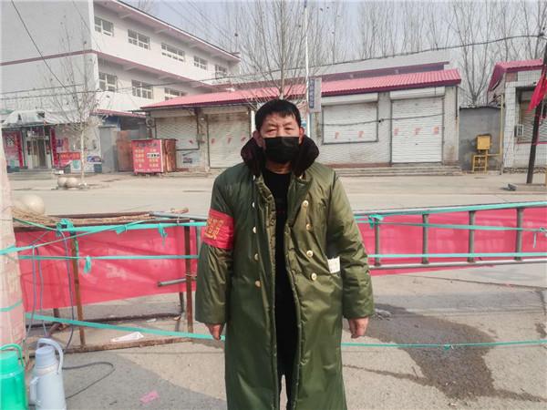 疫情防控 白沟镇丰盛庄村在行动!