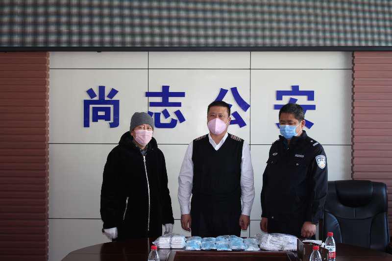 黑龙江尙志市:众志成城战疫情 爱心捐赠暖人心