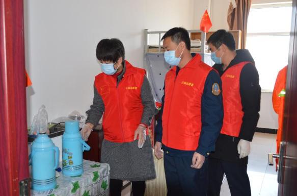 疫情面前献真情 忻州北高速志愿者在行动