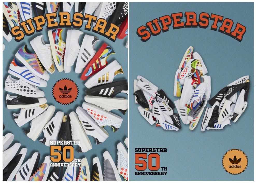 """阿迪达斯与天猫开启""""天猫超级品牌日""""共同纪念经典鞋款Superstar诞生50周年"""