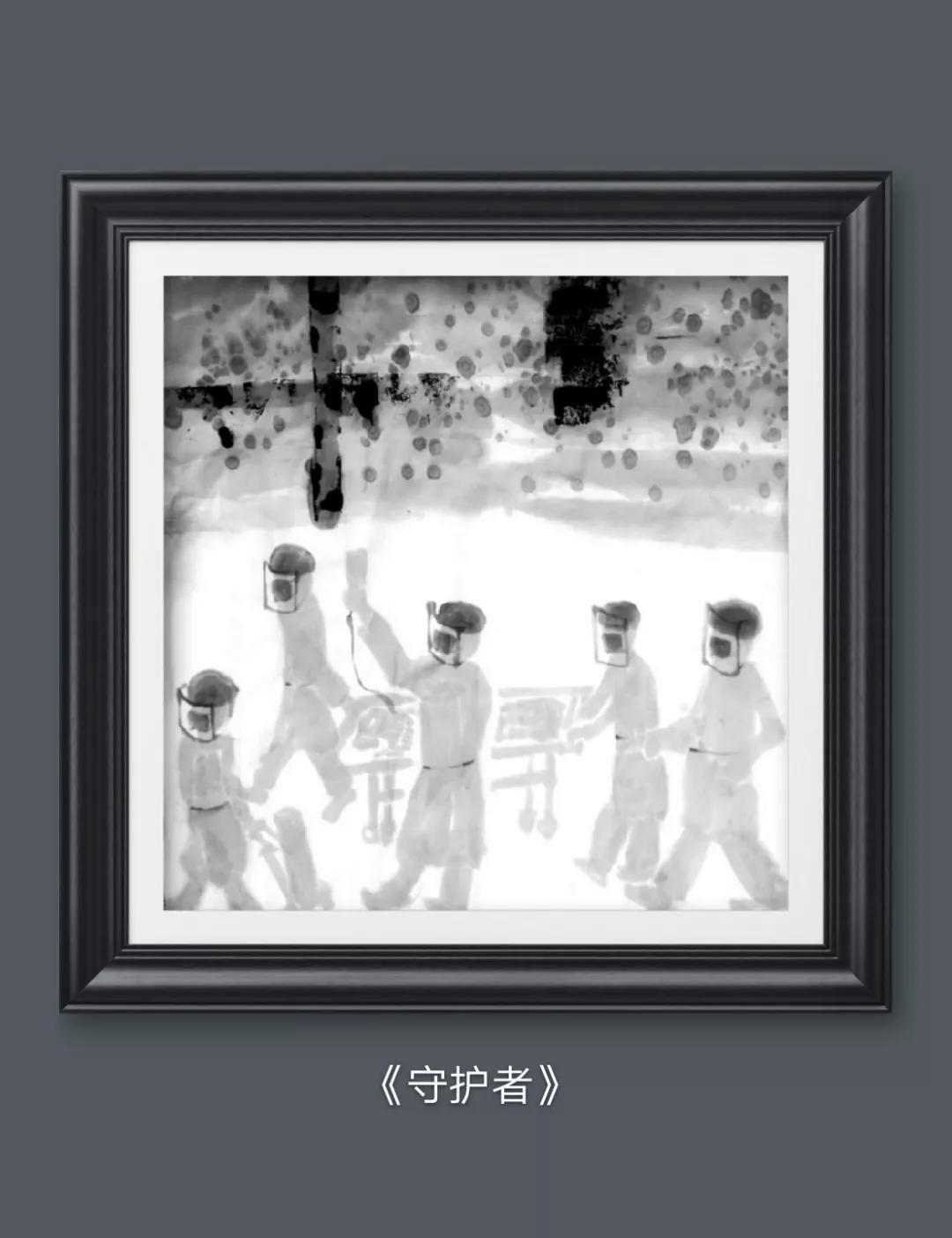 用艺术向英雄致敬 ——记著名艺术家王华明最新《众志成城、共同抗疫》系列作品问世