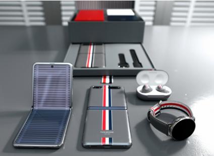 Samsung Galaxy Z Flip Thom Browne Edition首次亮相纽约时装周专属活动