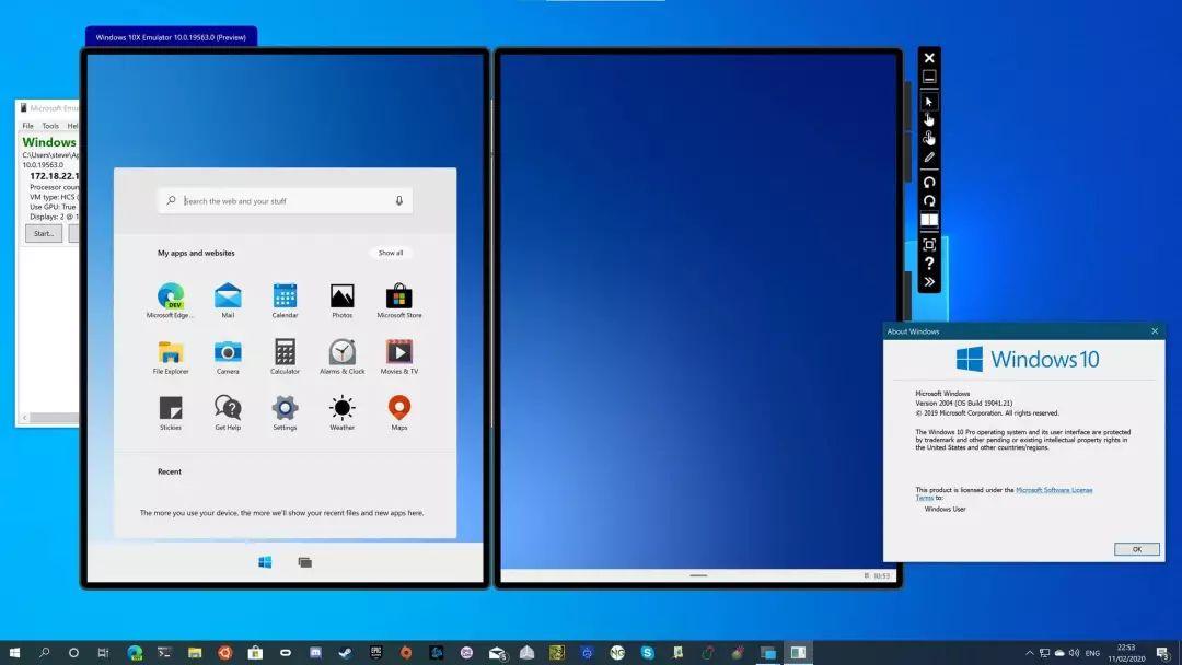 一起来了解为双屏设备而生的Win10X系统的照片 - 3