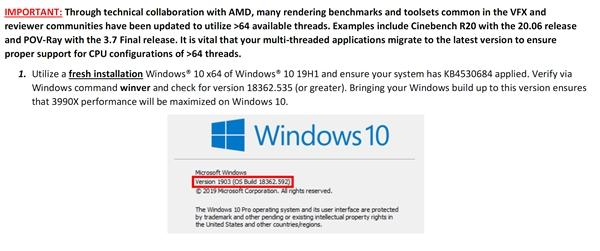 Win10竟然带不动AMD 64核心?的照片 - 7