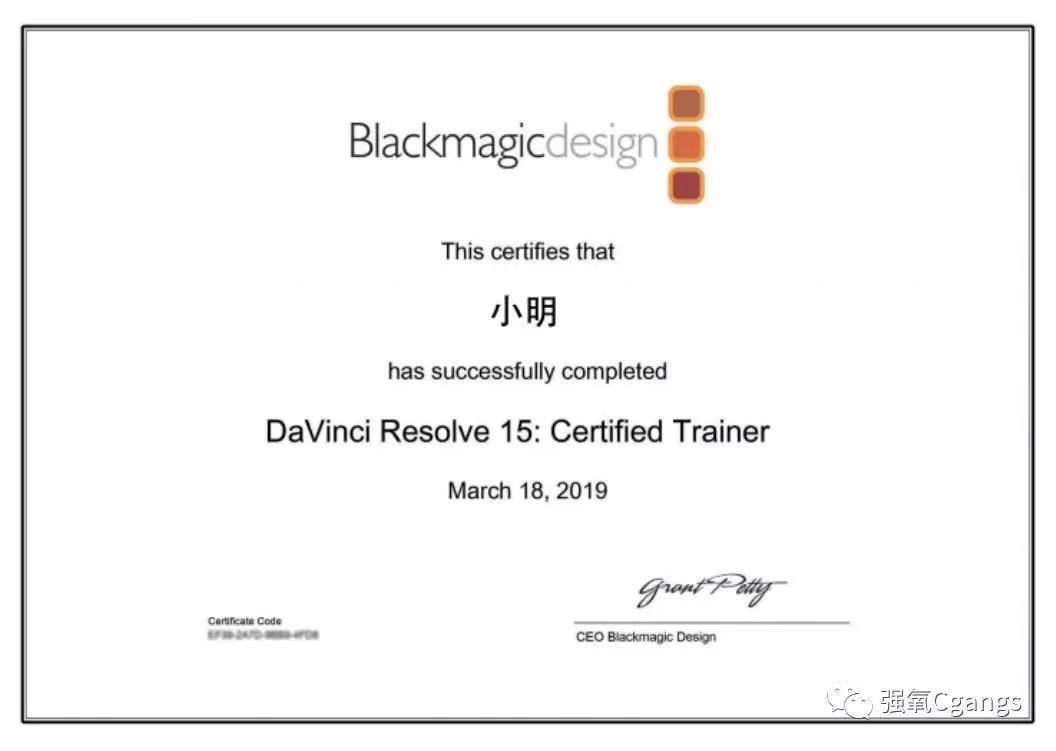 DaVinci Resolve认证导师初级培训与高级剪辑\调色培训对比 (上篇)