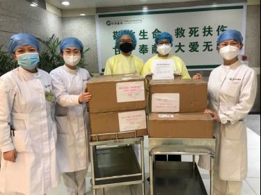 法国各界积极支持中国抗击新冠肺炎疫情欧莱雅集团与法国美帕等法企用行动援助一线