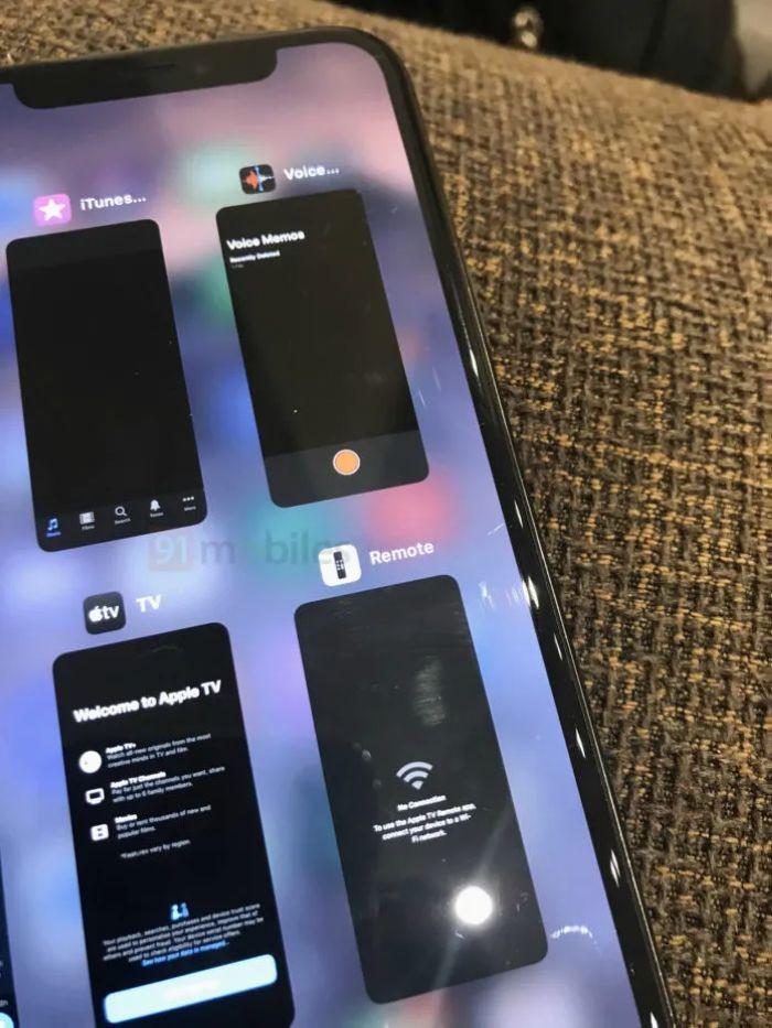 iOS 14多任务视图曝光:类似于iPad 同时显示4款App的照片 - 6