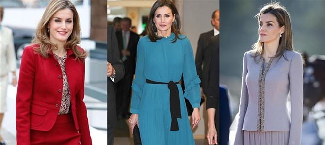 爱大牌但也能把平价穿出气场 西班牙王后的职场穿搭
