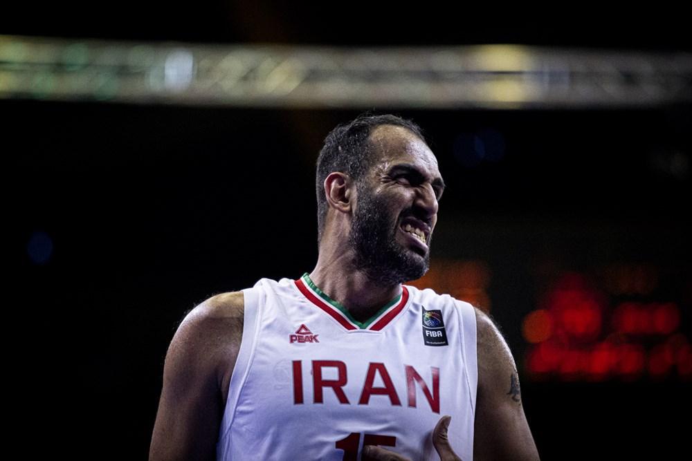 悍将场均15+7,助伊朗男篮领跑亚预赛E组,将成哈达迪奥运会帮手