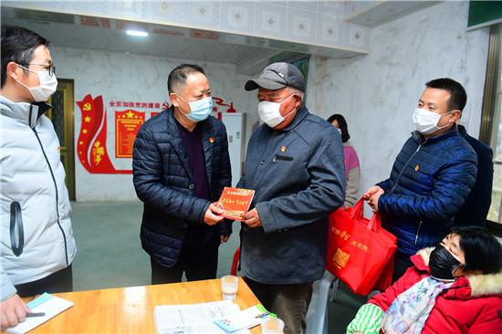 江苏海安高新区祖师庙村特殊时期主题党日这样过