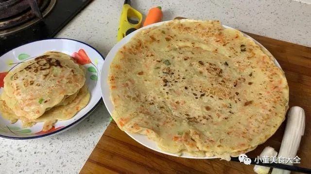 [美食 烹飪沖調]唔和麵唔揉麵,教你做懶人早餐餅,1分鍾一張,上桌唔夠吃嘅 ...