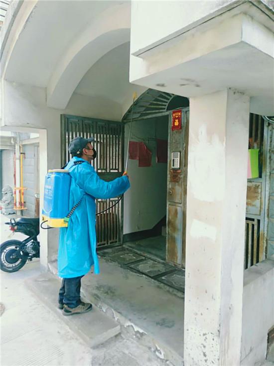 育才社区:密织社区疫情防控网