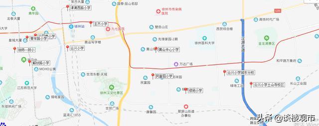 徐州云龍區小學學區劃分!不知道快來看看