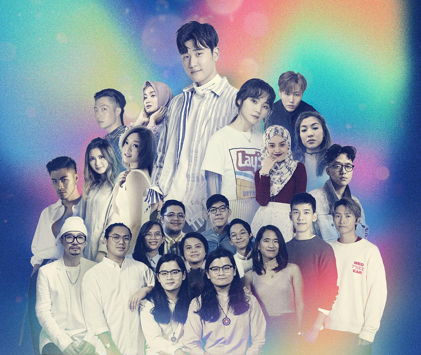 周兴哲携手亚洲群星献爱 跨地域跨语言公益曲《一样美丽_同心版》将捐全版税