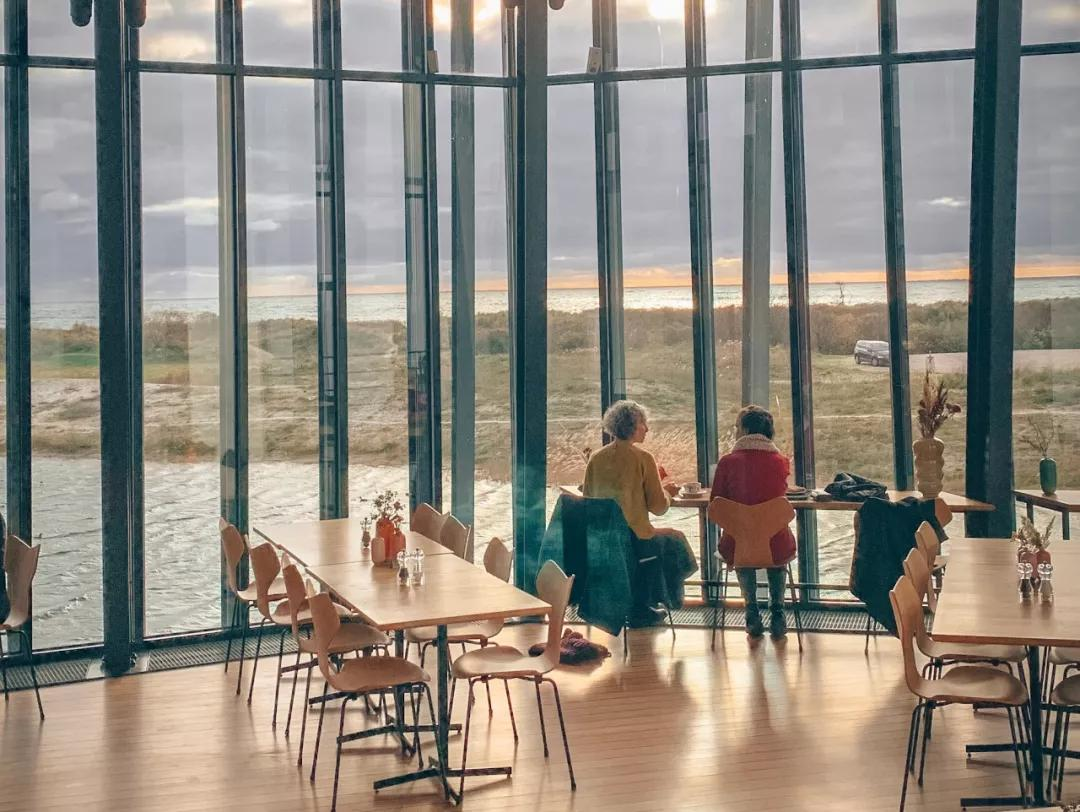 丹麦哥本哈根ARKENCAFÉ 咖啡厅