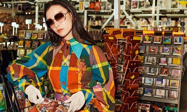 倪妮和金钟仁共同演绎古驰2020春夏眼镜广告形象大片