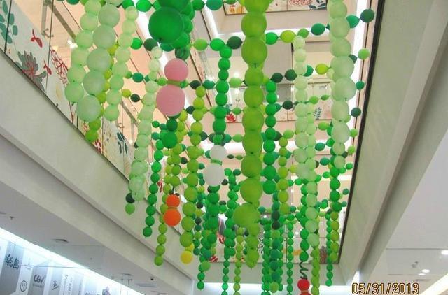 商城活動氣球布置圖片分享!總有你需要的