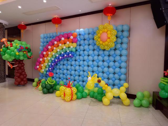 多彩高端氣球造型培訓機構初級入門學習教程