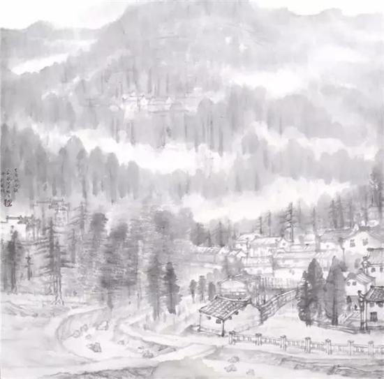 陆千波--国画作品欣赏