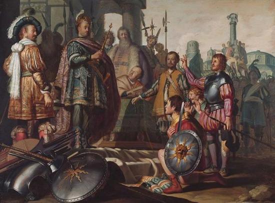 画中的伦勃朗为何如此惊讶?牛津回顾其艺术生涯