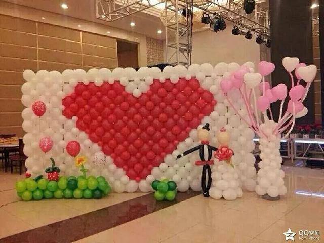 婚禮可以怎么布置氣球呢?特色的創意氣球婚禮到底好不好