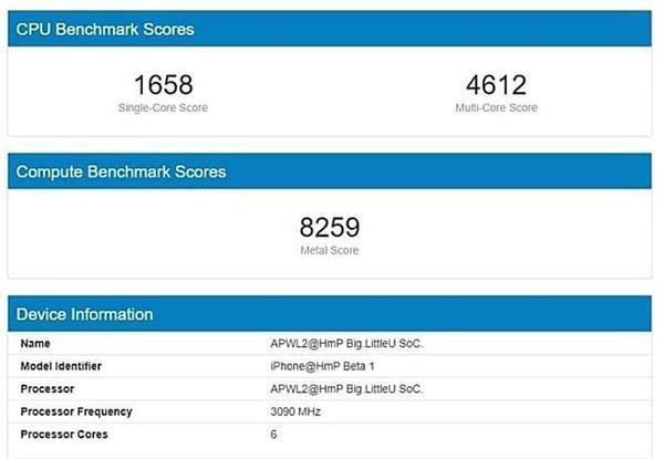 iPhone 12性能曝光:5nm A14首破3GHz 跑分无敌了的照片 - 3