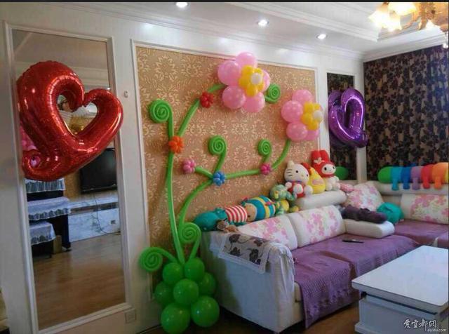 布置會場怎么弄氣球好看?簡單的用氣球和彩帶布置會場