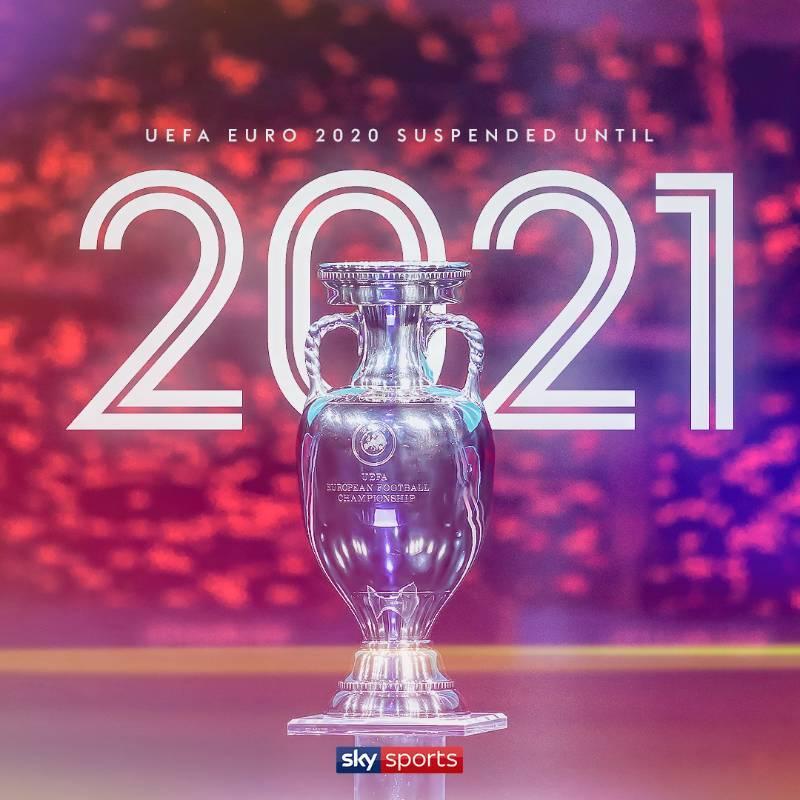 【七星直播】官方:欧洲杯推迟至2021年6月 欧洲中国队成夺冠热门!