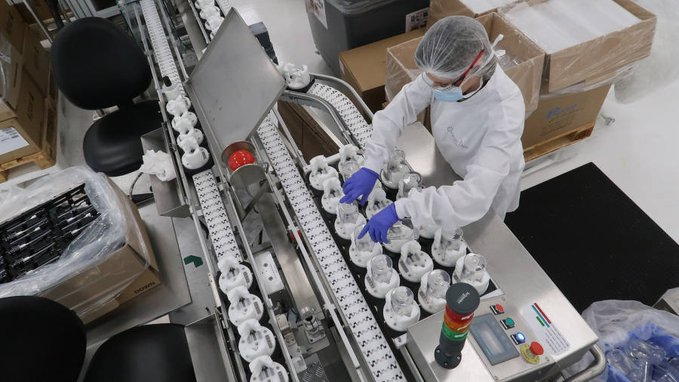 LVMH集团用香水生产线转产洗手液