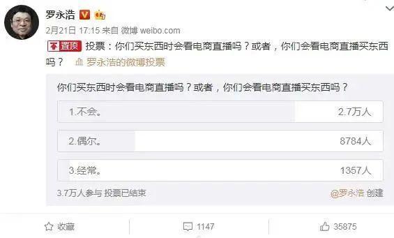 """罗永浩宣布进军电商直播,自称会成为""""带货一哥""""的照片 - 3"""