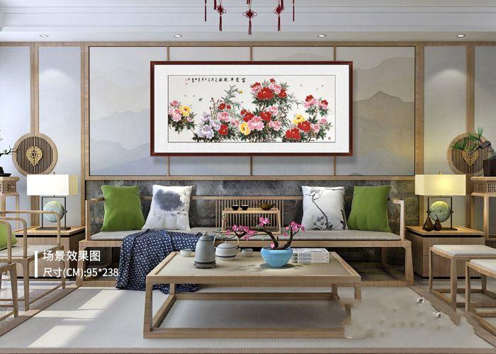 旺财的沙发墙挂画推荐 花鸟画好看又旺运势
