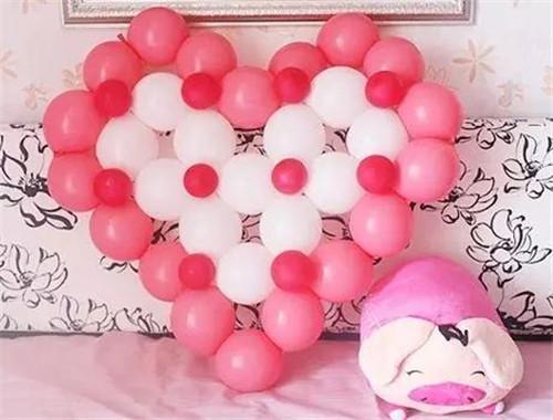 气球婚房如何设计好看?婚房如何利用气球造型