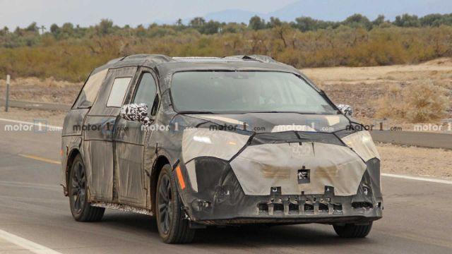 QGhappy- 2021款丰田Sienna将只设计混动版 年底亮相