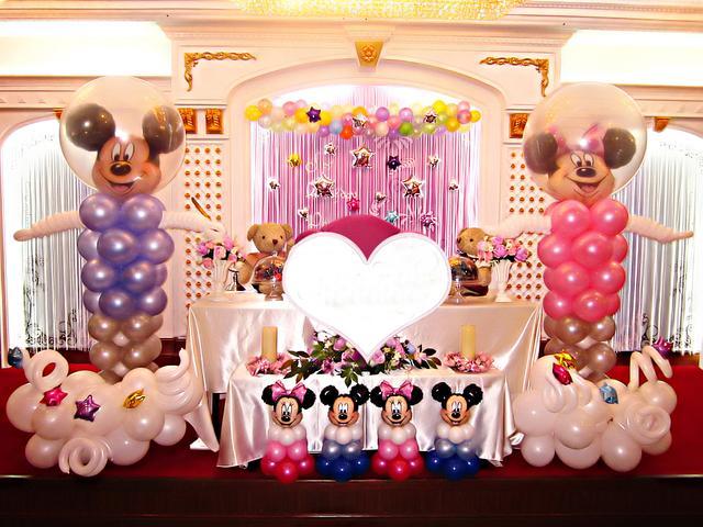 婚禮現場氣球布置效果圖!婚房氣球布置需要哪些材料
