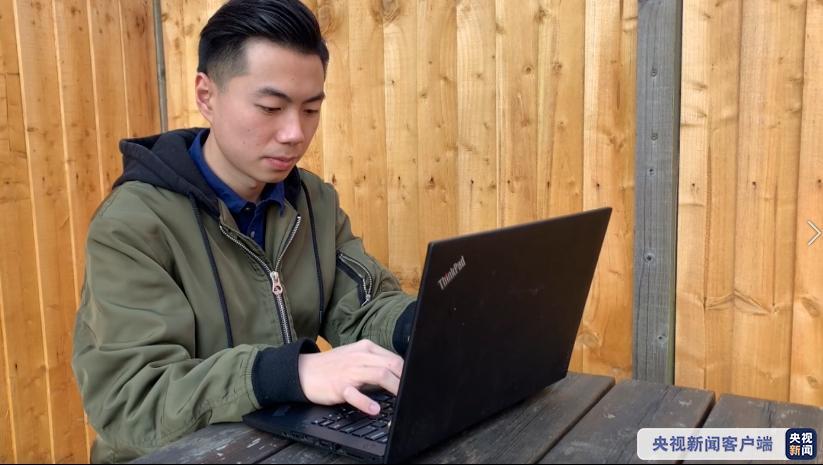 """自制每日疫情图 中国留学生成英国""""网红"""" 英卫生部:赞!_中欧新闻_欧洲中文网"""