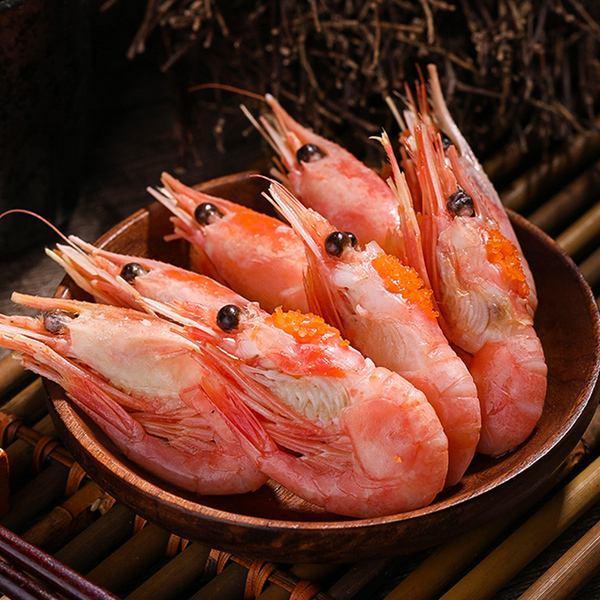 北极甜虾怎么吃(甜虾刺身吃法大全)