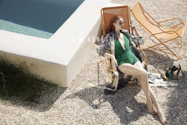 简爱格妮斯2020春夏连衣裙系列 风乍起吹皱一池春水