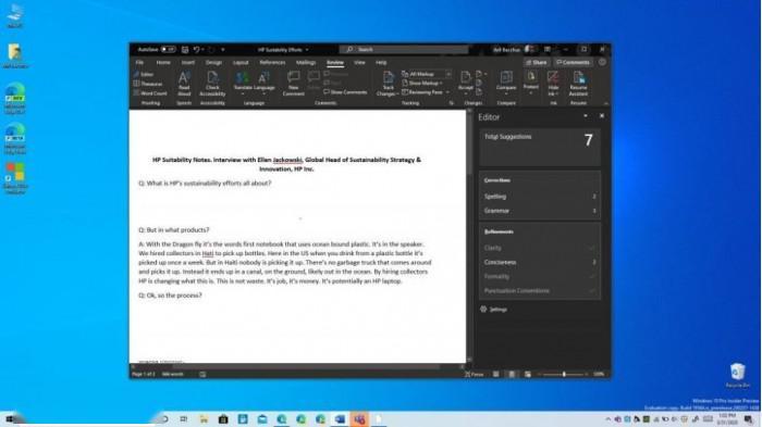 Microsoft Editor上线:Word文档编辑的智能助手的照片 - 3