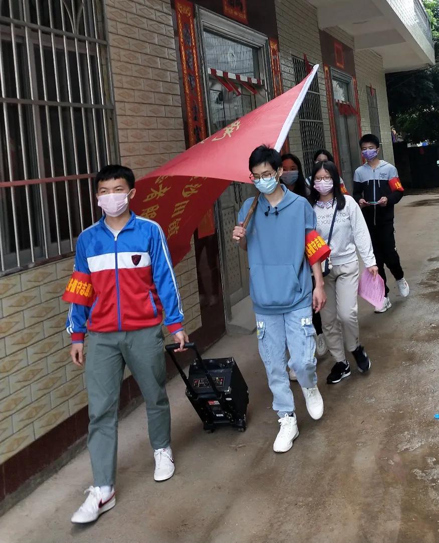 """让青春闪耀在前线,广西城市职业大学学子抗""""疫""""志愿故事(二)"""