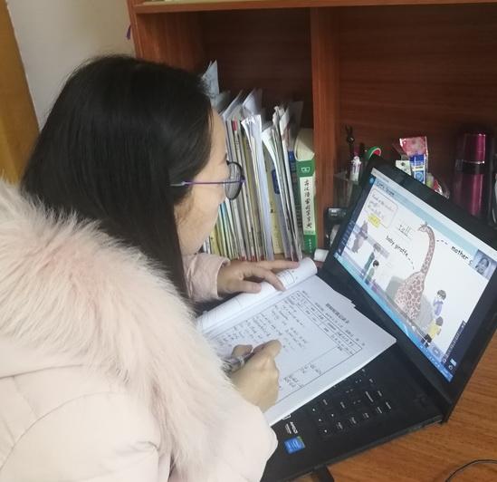 湖北秭归:展线上课堂风采 促英语教研成长