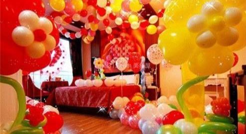 怎么用气球装扮新房?新房气球布置图片大全