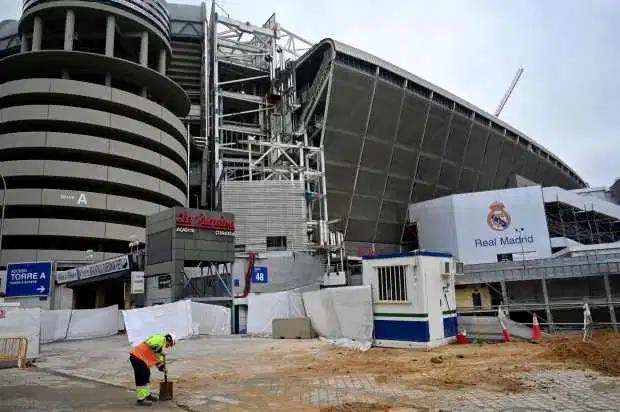 复工!皇马已获马德里市政许可 伯纳乌翻修重启