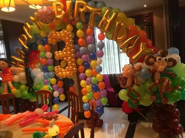 結婚氣球怎么綁好看?結婚氣球怎么綁成一串