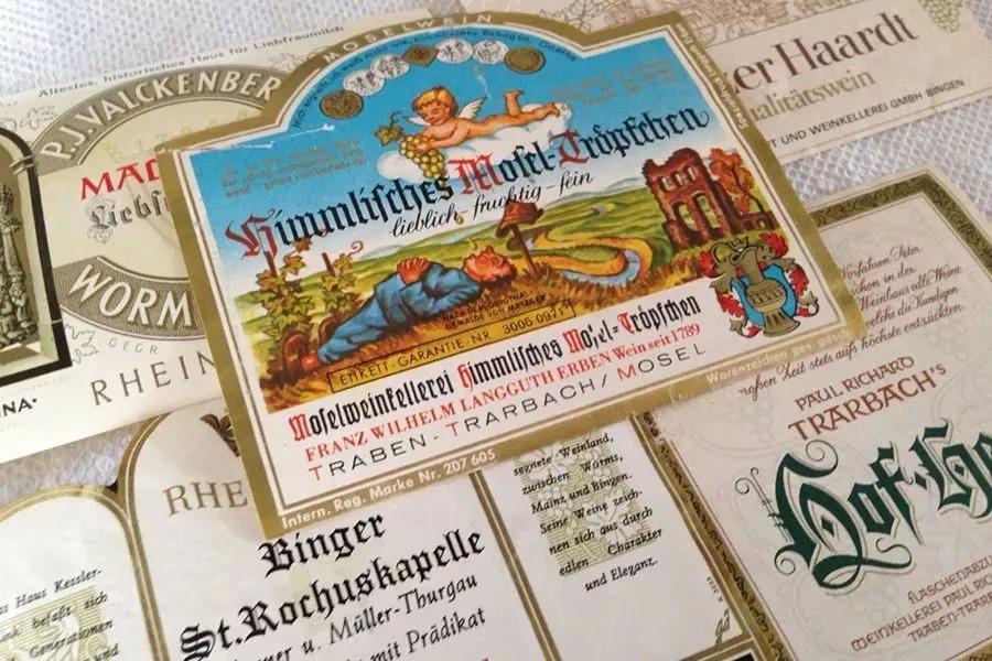 德国葡萄酒标签