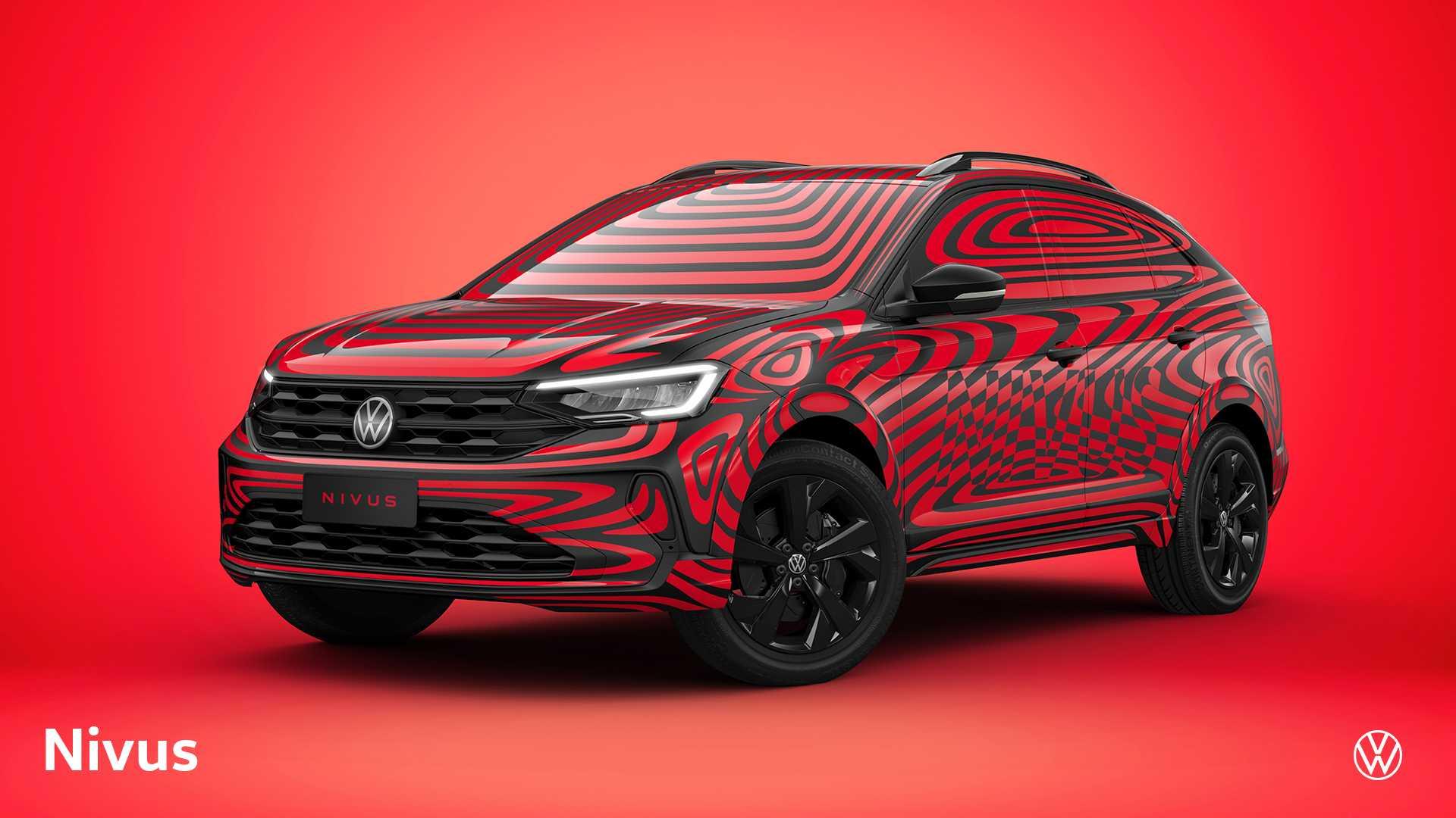 F1体育-采用溜背式设计,大众全新轿跑SUV Nivus官图发布