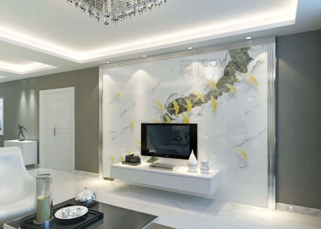 多种材质工艺效果的背景墙,妙彩一套设备帮您搞定!