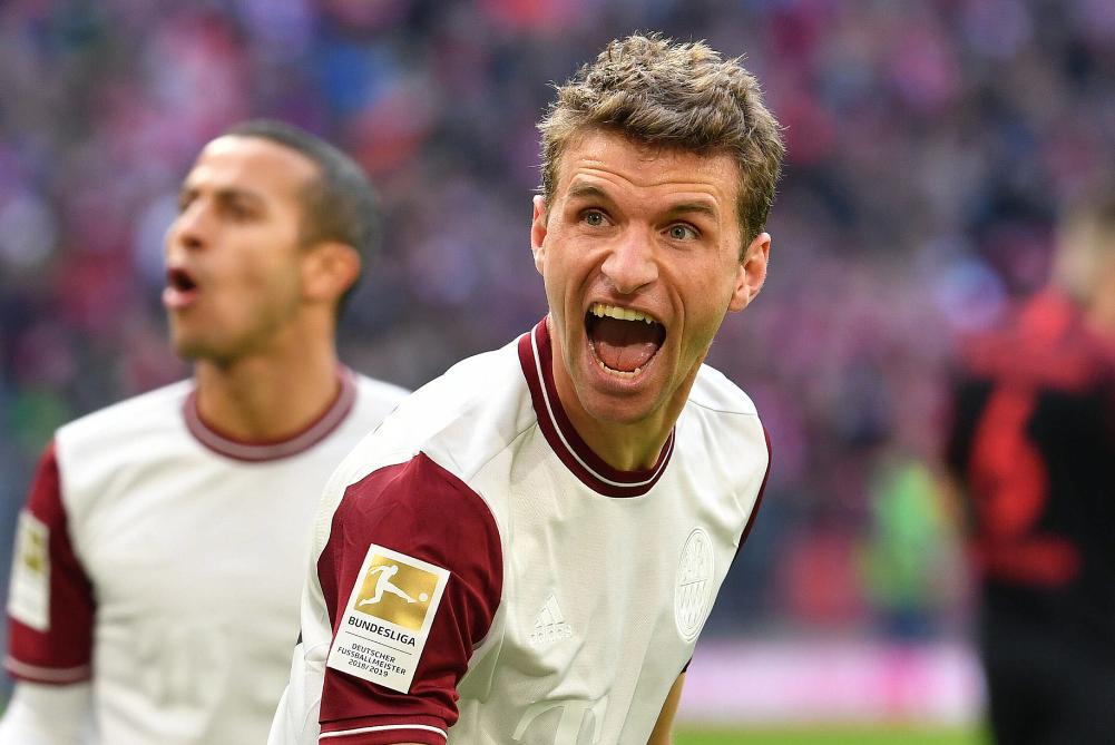 穆勒:那支球队已经被淘汰了 拜仁有机会夺欧冠