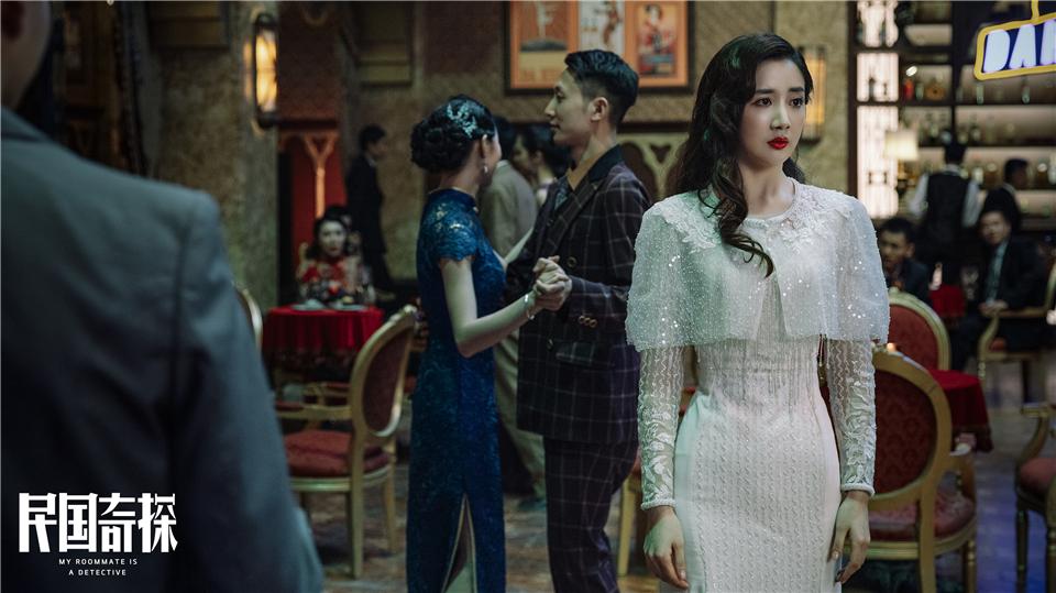 陈欣予《民国奇探》上线 温婉甜美性感迷人