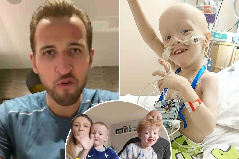 4岁抗癌男孩不幸同时感染新冠 凯恩拍视频送祝福
