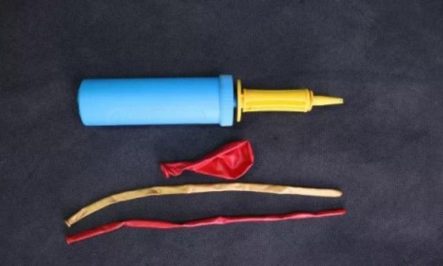 用氣球做手工燈籠圖片教程,氣球燈籠制作方法